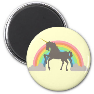 Unicorn Power Fridge Magnet