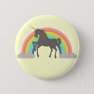 Unicorn Power Pinback Button