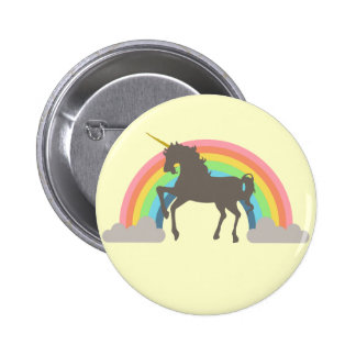 Unicorn Power Pinback Button