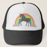 "Unicorn Power Trucker Hat<br><div class=""desc"">Get in touch with your softer (or ironic) side with this epic Unicorn Power design by Middlemind!</div>"
