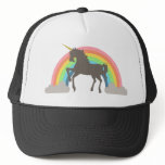 Unicorn Power Trucker Hat<br><div class='desc'>Get in touch with your softer (or ironic) side with this epic Unicorn Power design by Middlemind!</div>