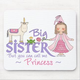 Unicorn Princess Big Sister Mouse Pad