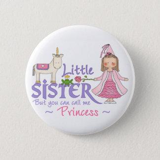 Unicorn Princess Little Sister Button