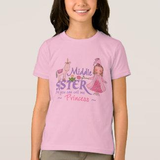 Unicorn Princess Middle Sister T-shirts