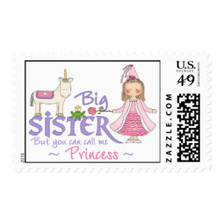 Unicorn Princess Postage