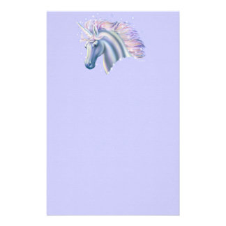 Unicorn Princess Stationery Design
