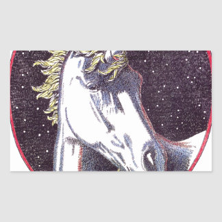 Unicorn Products Color jpg Rectangle Sticker