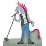 Unicorn Punk Cutout Sculpture Standing Photo Sculpture