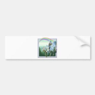 Unicorn Rainbow Bumper Sticker