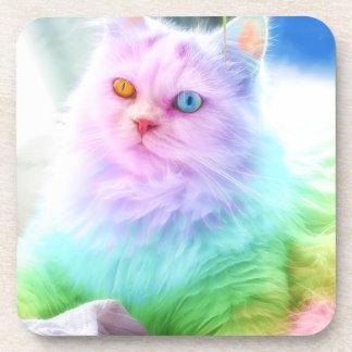 Unicorn Rainbow Cat Coaster