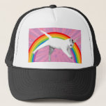 "Unicorn Rainbow Cat Trucker Hat<br><div class=""desc"">The most awesome of all cats</div>"