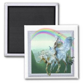 Unicorn Rainbow Fridge Magnets