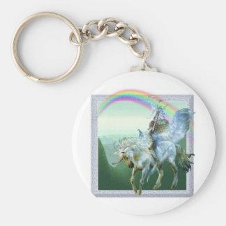 Unicorn Rainbow Key Chain