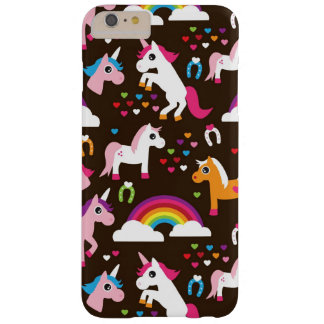 unicorn rainbow kids background horse barely there iPhone 6 plus case