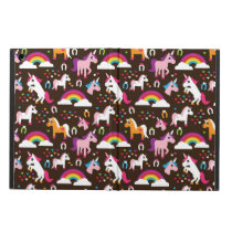 unicorn rainbow kids background horse iPad air cover