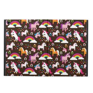 unicorn rainbow kids background horse iPad air cover