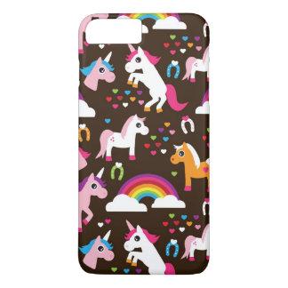 unicorn rainbow kids background horse iPhone 8 plus/7 plus case