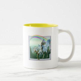 Unicorn Rainbow Mugs