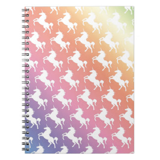 Unicorn Rainbow Notebook