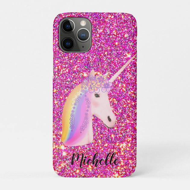 Custom Design Pink Unicorn MacBook Case