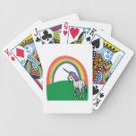 Unicorn Rainbow Playing Cards