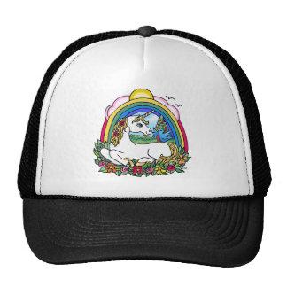 Unicorn & Rainbow Trucker Hat