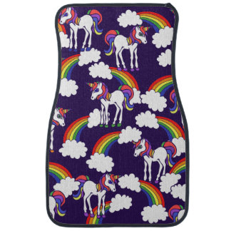 Unicorn Rainbows Car Floor Mat