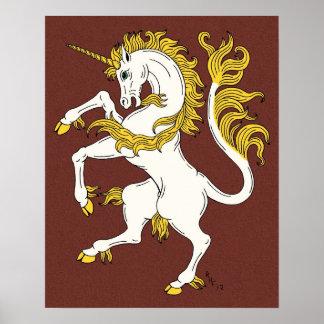 Unicorn Rampant Poster