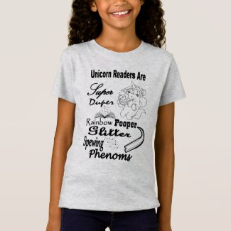 Unicorn Readers Are Super... Youth Tee - BL