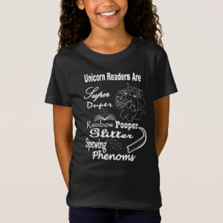 Unicorn Readers Are Super... Youth Tee - WL
