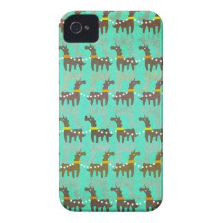 Unicorn Red Nose iPhone 4 Case-Mate Case