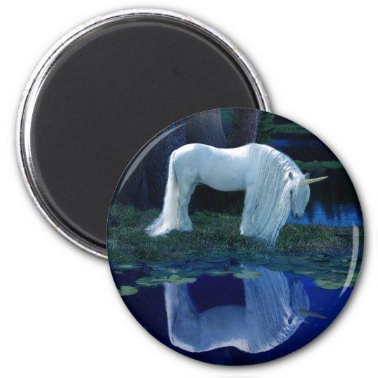 Unicorn Reflection Magnet
