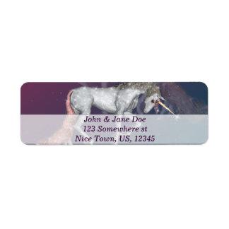 Unicorn Return Address Labels