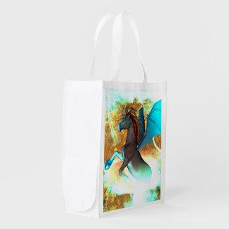 Unicorn Reusable Grocery Bag