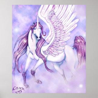Unicorn s Flight of Fancy Print