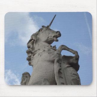 Unicorn Sculpture Mouse Pad