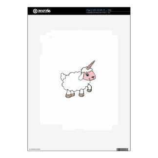 Unicorn sheep iPad 2 decal