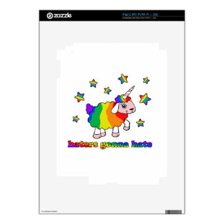 Unicorn sheep skin for iPad 2