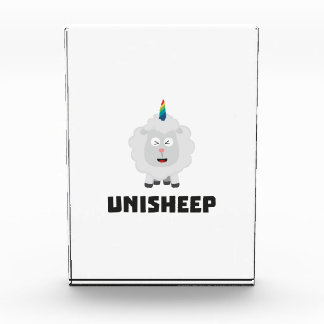 Unicorn Sheep Unisheep Z4txe Acrylic Award