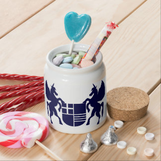 Unicorn & Shield Candy Jar