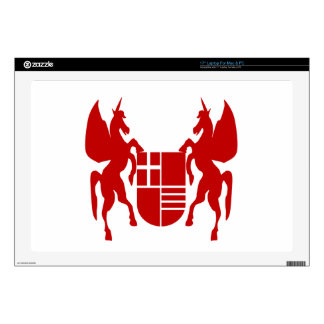 Unicorn & Shield Decals For Laptops