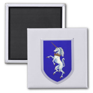 Unicorn Shield Design Magnet