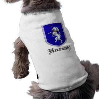 Unicorn Shield dog shirt