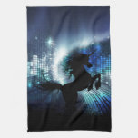 Unicorn Silhouette Kitchen Towels