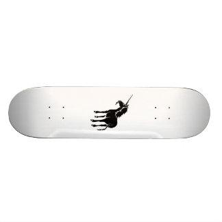 Unicorn Silhouette Custom Skateboard