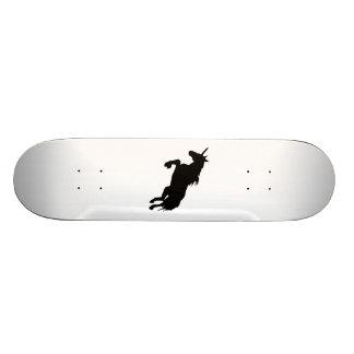 Unicorn Silhouette Skate Board