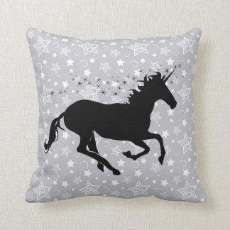 Unicorn Silhouette Throw Pillow