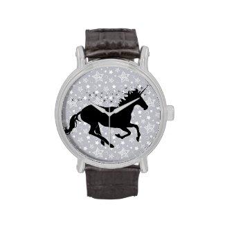 Unicorn Silhouette Wrist Watches