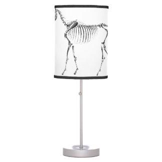 Unicorn Skeleton Table Lamp