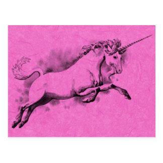 unicorn sketch fantasy art story trendy fashion postcard